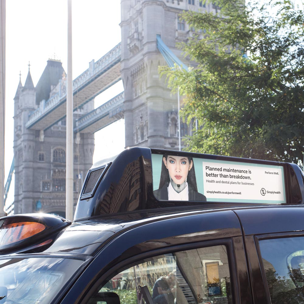 Simplyhealth taxi top