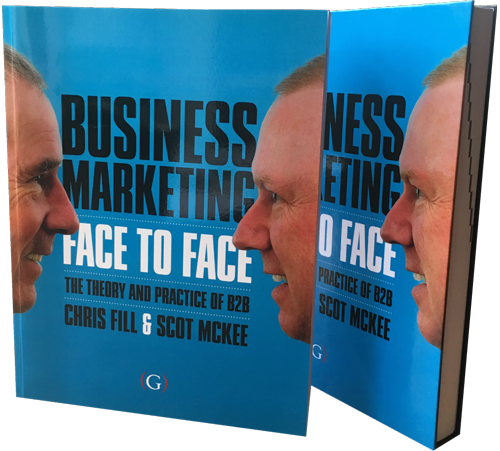 Business Marketing Face to Face - Chris Fill Scot McKee