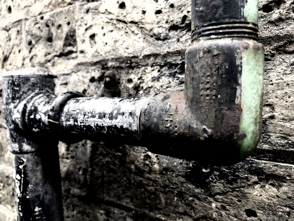 pipe joint boundary row london